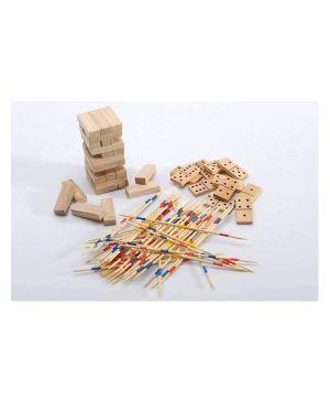 5 giochi riuniti in legno Spin Master 6037248 778988668153 6037248