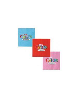 Tovaglioli pura cellulosa 2 veli 33x33 pz.50 rosso 18312_57428
