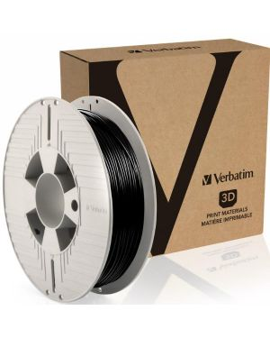 Filament 3d tpe 1.75mm black 500gr Verbatim 55511 23942555117 55511