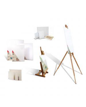 Cavalletto da tavolo piccolo in legno morocolor 470CAVP 8006919004704 470CAVP_76284 by Primo - Morocolor