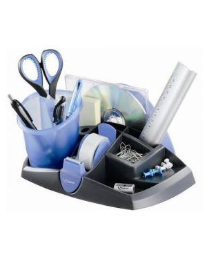 Desk organizer ergologic nero - blu 13 scomparti maped 751212 3154147512128 751212_77628 by Maped