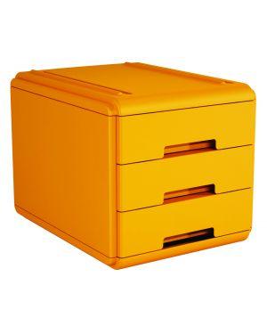 Mini cassettiera 3 cass. arancio arda 19P3PAR 8003438018823 19P3PAR_77661 by Arda