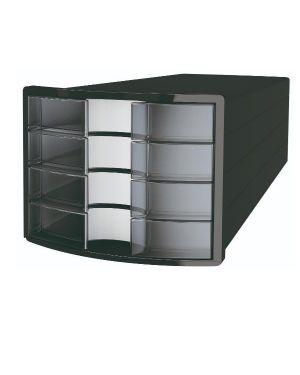 Casset. implus 4 cass. nero - traspar Han 1012-363 4012473101784 1012-363