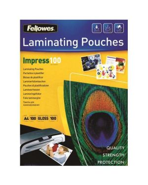 Pouches lucide impress100a4 Fellowes 5351111 77511535116 5351111_77610 by Fellowes