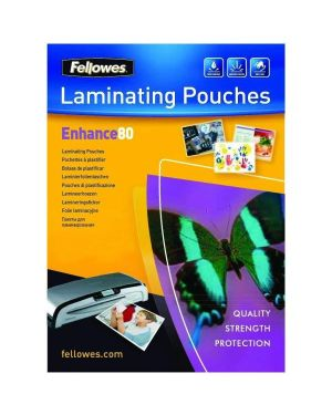Pouches lucide enhance80 a5 Fellowes 5306002 77511530609 5306002_77624