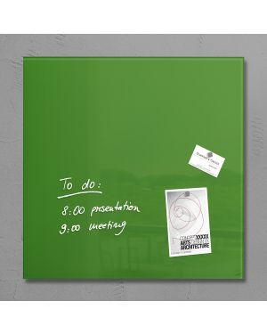 Lavagna magnetica in vetro 48x48cm verde artverum® sigel RGL253  RGL253_76978