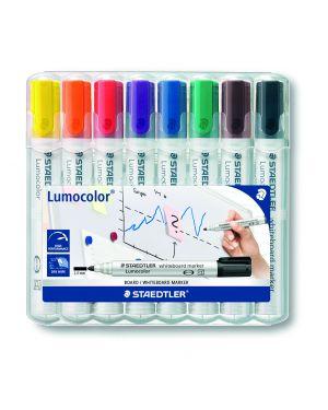 Busta 8 pennarelli lumocolor 351 staedtler per lavagne cancellabili 351WP8 4007817186244 351WP8_77296 by Staedtler