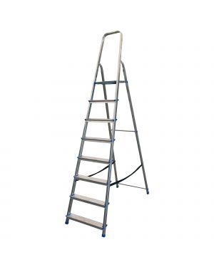 Scala alluminio domestica 8 gradini stella basic 21031 8021227007094 21031_77629