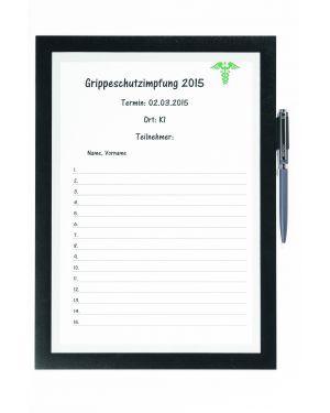 Cornice adesiva duraframe® note a4 21x29,7cm nero durable 4993-01 4005546407036 4993-01_77107