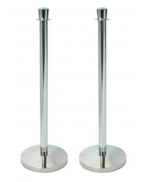 1 colonnina segnapercorso budget h100cm cromata securit RS-LW-CH  RS-LW-CH_77144