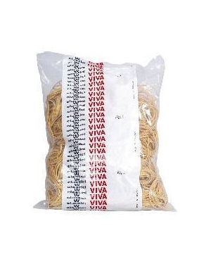 Busta elastici gialli diam.70mm Viva E070 8014035000357 E070_76644 by Melchioni