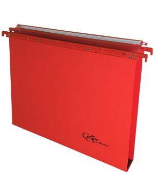 Cartella sospesa cassetto 39 - u-3cm rosso joker bertesi 400/395 Link 3-A4 77396 A 400/395 Link 3-A4_77396