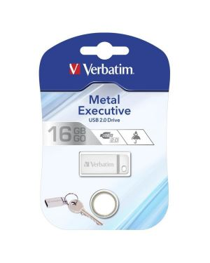 Memory usb-64gb-metal silver 2.0 Verbatim 98750 23942987505 98750_VERB98750 by Verbatim