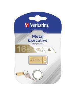 Metal executive usb32.0 drive gold 16gb 99104 23942991045 99104_VERB99104 by Verbatim