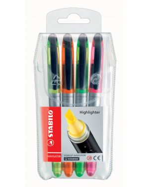 Busta 4 stabilo navigator colori assortiti 545/4 4006381339872 545/4_77310 by Stabilo