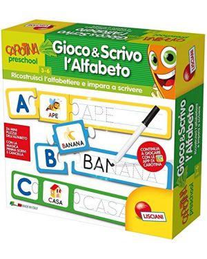 Carotina gioco e scrivo l'alfabeto lisciani 53315_77812