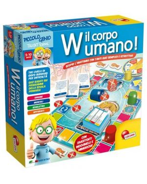 Piccolo genio ts W Il Corpo Umano Lisciani cod. 48915_77828 48915_77828