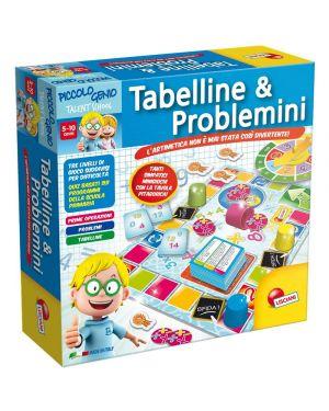 Piccolo genio ts Tabelline e Problemini Lisciani cod. 48885_77830 48885_77830