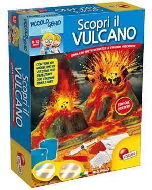 Piccolo genio Scopri il Vulcano Lisciani cod. 48939_77832 48939_77832