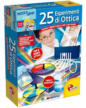 Piccolo genio 25 esperimenti di ottica lisciani 48984_77838