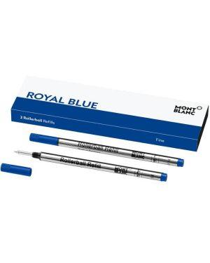 refill royal blue (blu)-f Mont Blanc 124501 4017941963888 124501