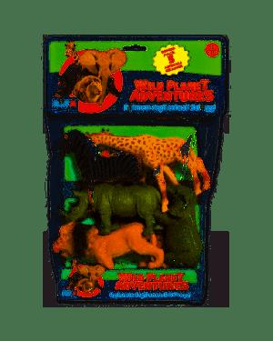 Busta grande animali selvaggi ronchi supertoys 9753_77956