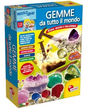 Piccolo genio Gemme da tutto il mondo Lisciani cod. 48953_77834 48953_77834