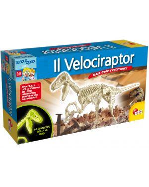 Piccolo genio Scava e Scopri Velociraptor Lisciani cod. 49035_77850 49035_77850