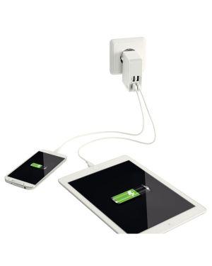 Caricatore da parete Traveller USB Leitz Complete a 4 porte USB ES_62190001