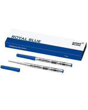 refill royal blue (blu)-f Mont Blanc 124492 4017941963796 124492