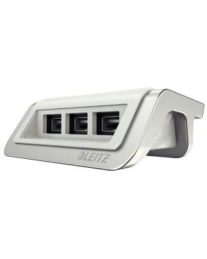 Caricatore a 3 porte USB Leitz Style Bianco artic ES_62070004