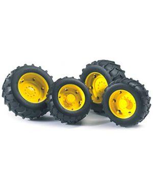 Doppie ruote cerchi gialli   per serie premium pro 03314_500731