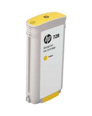 Cartuccia getto d'inchiostro hp 728 giallo 130ml F9J65A 888793397848 F9J65A_HPF9J65A