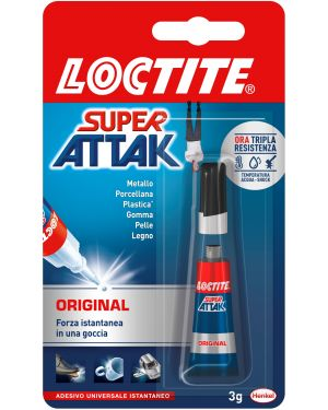 Colla super attak 3gr original 2632156 30427A 2632156 by Loctite