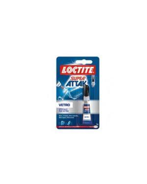 Colla super attak vetro 3gr 2632280 8000776140414 2632280 by Loctite