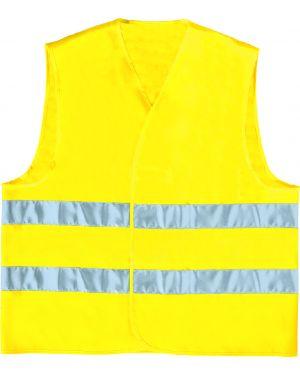 Gilet alta visibilita' giallo fluo tg. l GILP2JAGT 3295249170530 GILP2JAGT