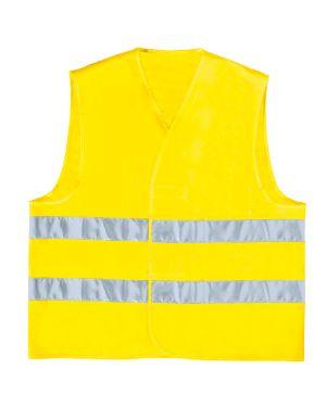 Gilet alta visibilita' giallo fluo tg. xxl GILP2JAXX 3295249170547 GILP2JAXX