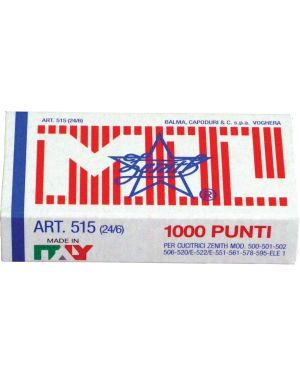 Punti zenith 515 - 6 x 1000 ZENITH 305151601 8009613556012 305151601 by Zenith