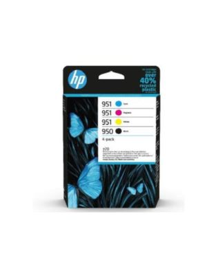 Hp 950 black - 951 cmy ink  4-pack HP Inc 6ZC65AE#301 195122139919 6ZC65AE#301