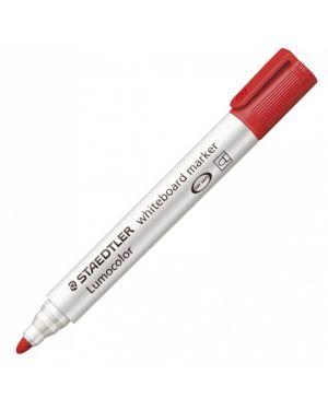 Pennarello lumocolor 351 rosso p.tonda per lavagne cancellabili 3512
