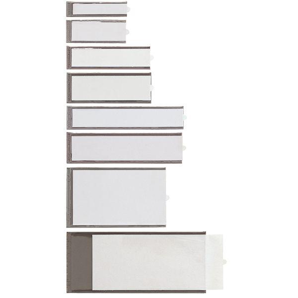 2 portaetichette adesive ies a4 65x140mm sei 320314 8004972001777 320314 by Sei Rota