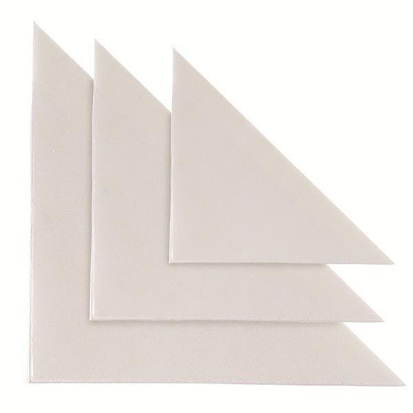 10 buste adesive tasca tr 10 triangolare 10x10cm 318123 by Sei Rota