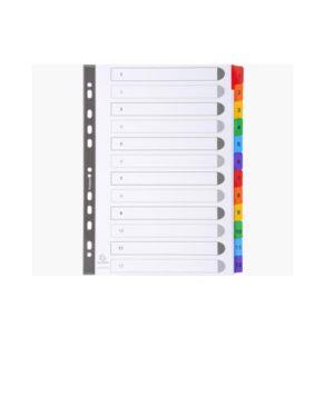 Divisori numerici 1-12 a4 bianco Exacompta 1112E 3130630011125 1112E