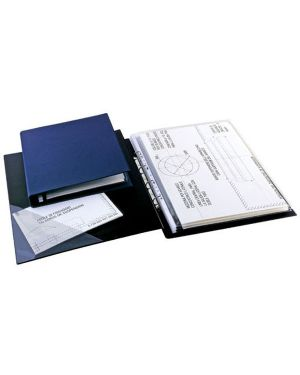Raccoglitore sanremo 2000 25 4d nero 35x50cm libro sei rota 34355010