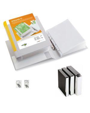 Raccoglitore stelvio ti 50 a4 2d 22x30cm bianco personalizzabile sei rota 35504601 8004972012407 35504601 by Sei Rota