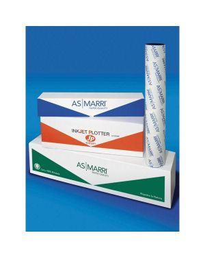 Carta inkjet plotter j.80s 914mmx50mt 80gr opaca as marri 7979 28299A 7979 by As Marri