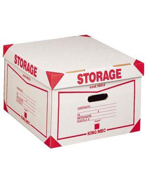 Scatola archivio storage 1603 contenitore ACCO 160300 8004389022969 160300 by King Mec