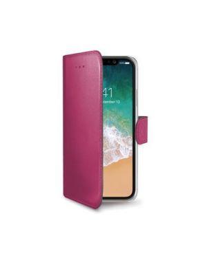 Wally case iphone x - xs pink Celly WALLY900PK 8021735730408 WALLY900PK