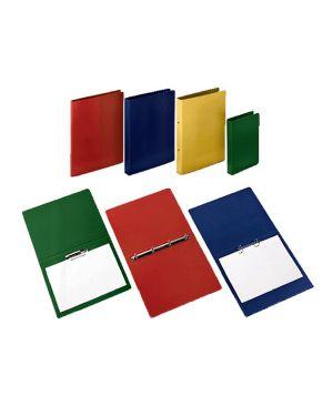 Raccoglitore presspan 25x33cm 4anelli 25mm rosso cdg CONFEZIONE DA 5 CG0392PBXXXAC02 by CART. GARDA
