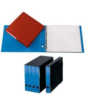 Portatabulati singolo 4anelli 31,5x29cm azzurro 204u CG2101FEOXXAB06 37478A CG2101FEOXXAB06 by Cart. Garda